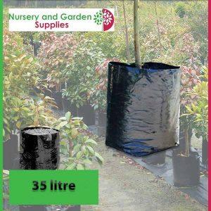 35 litre Poly Planter Bags at Nursery and Garden Supplies - for more info go to nurseryandgardensupplies.com.au