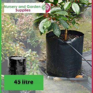 45 litre Poly Planter Bags at Nursery and Garden Supplies - for more info go to nurseryandgardensupplies.com.au