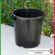 165mm-Slimline-Plant-Pot-Black-2