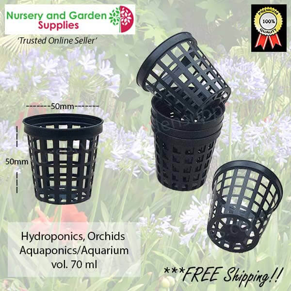 50mm Net Pot TEKU - for more info go to nurseryandgardensupplies.com.au