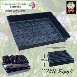 Seedling Tray Restricted Drainage - for more info go to nurseryandgardensupplies.com.au