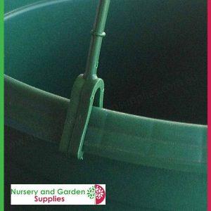 270mm Hanging Baskets Saucerless Green - for more info go to nurseryandgardensupplies.com.au