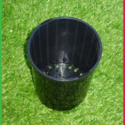 0 140mm DEEP pot black 2
