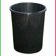 0 140mm DEEP pot black 4