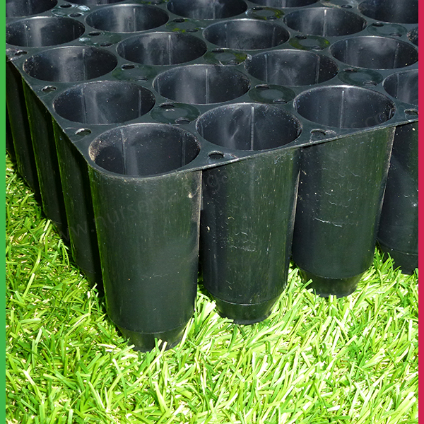 40 Cell Hard Plastic Seedling Tray Nursery And Garden