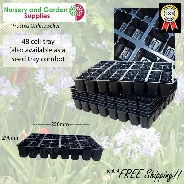 48 cell Plug Tray - for more info go to nurseryandgardensupplies.com.au