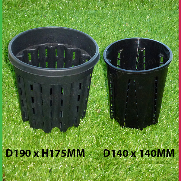 143mm Plastic Anti Spiral Pot 140mm Nursery And Garden