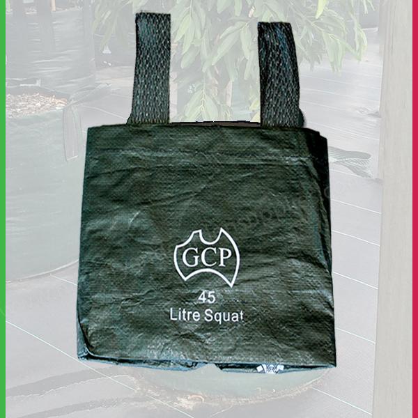 45 Litre Squat Woven Planter Bags Nursery And Garden