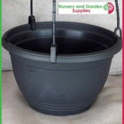200mm-Saucerless-Hanging-basket-Black-2
