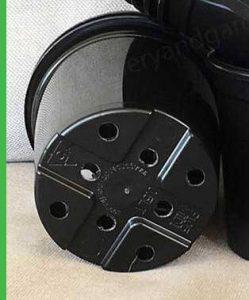 105mm Midi Pot Black - check out more products at nurseryandgardensupplies.com.au