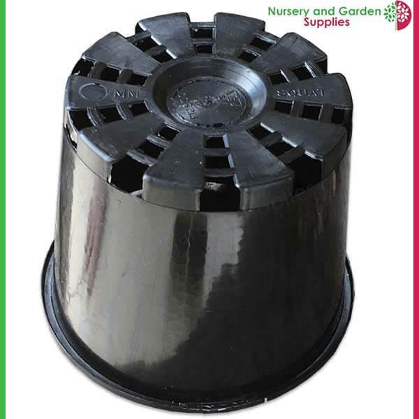 125mm Squat Plant Pot - for more info go to nurseryandgardensupplies.com.au