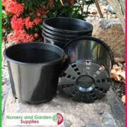 125mm-Squat-Plant-Pot-Black-5