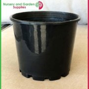 140mm-Squat-Plant-Pot-Black-4