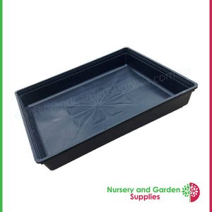 Hydro Tray watertight (holds water) - for more info go to nurseryandgardensupplies.com.au