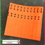 Orange-Self-tie-Loop-Lock-Plant-Tags-Vinyl-Label-4