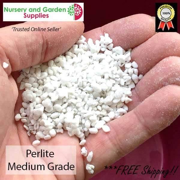 Perlite Medium - for more info go to nurseryandgardensupplies.com.au