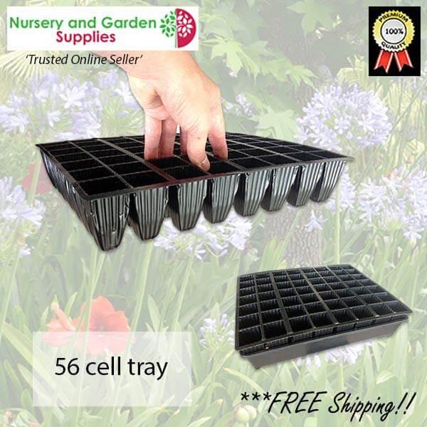 56 cell Plug Tray - for more info go to nurseryandgardensupplies.com.au