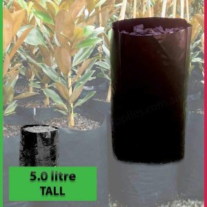5 litre Tall Poly Planter Bags at Nursery and Garden Supplies - for more info go to nurseryandgardensupplies.com.au