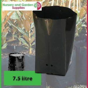 7.5 litre Poly Planter Bags at Nursery and Garden Supplies - for more info go to nurseryandgardensupplies.com.au