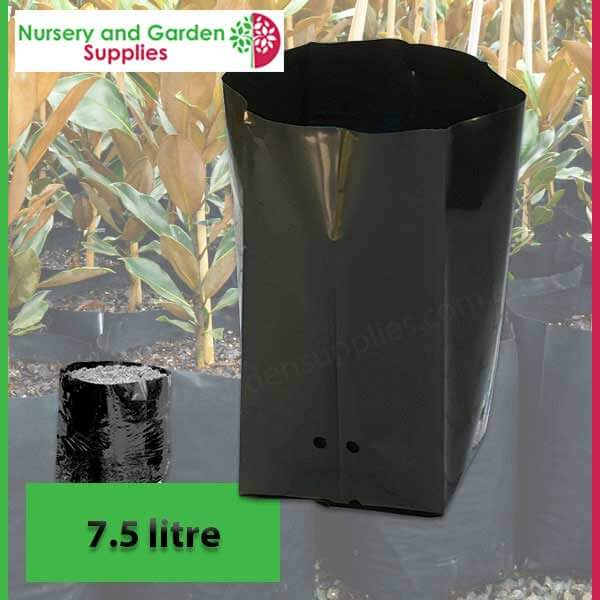 7.5 litre Poly Planter Bags at Nursery and Garden Supplies - for more info go to nurseryandgardensupplies.com.au