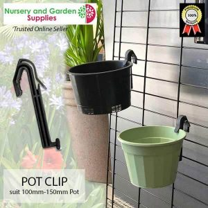 Plant Pot Clip - for more info go to nurseryandgardensupplies.com.au