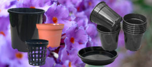 Plastic Plant Pots & Saucers Category - 143mm Anti Spiral Pot - Nursery and Garden Supplies - for more info go to nurseryandgardensupplies.com.au