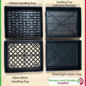 4 Seedling Trays - for more info go to nurseryandgardensupplies.com.au