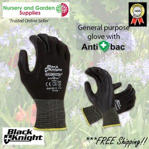 Black Knight Gripmaster Maxisafe Garden Glove - for more info go to nurseryandgardensupplies.com.au