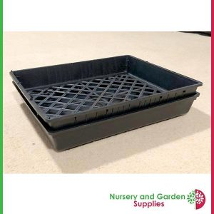 Open Mesh Seedling Tray in Hydro Tray - for more info go to nurseryandgardensupplies.com.au