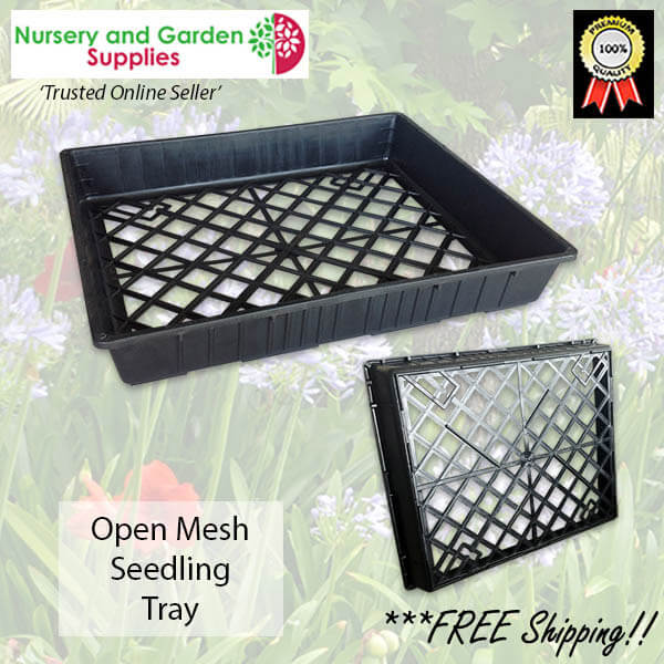 Open Mesh Seedling Plant Carry Tray - for more info go to nurseryandgardensupplies.com.au