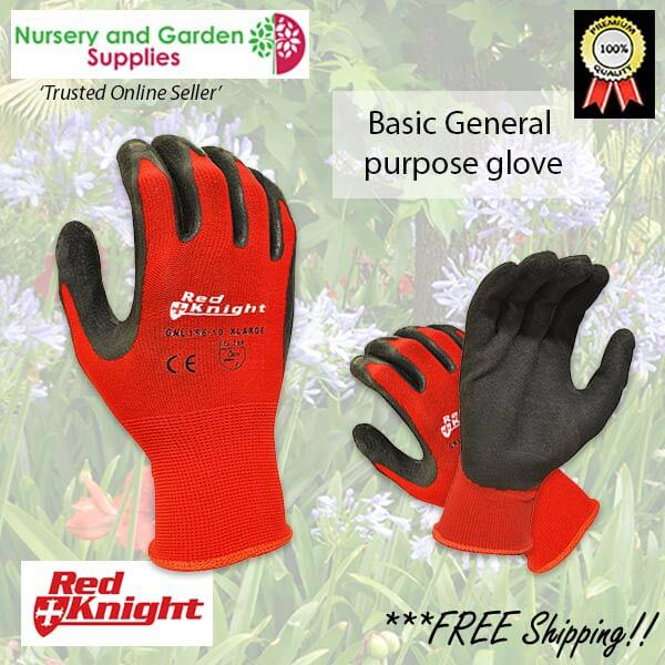 Red Knight Gripmaster Maxisafe Garden Glove - for more info go to nurseryandgardensupplies.com.au