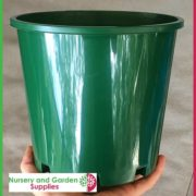 200mm-Slimline-Plant-Pot-Green-5