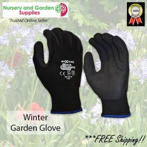 Cold weather potting glove - for more info go to nurseryandgardensupplies.com.au