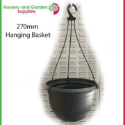 270mm-Hanging-Basket-Black-saucerless-5
