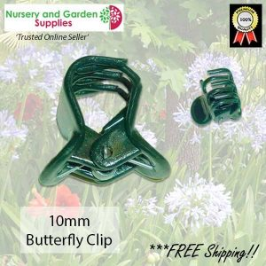 10mm Butterfly Clip - for more info go to nurseryandgardensupplies.com.au