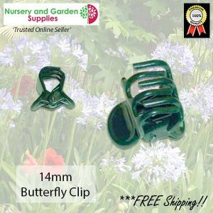 14mm Butterfly Clip - for more info go to nurseryandgardensupplies.com.au