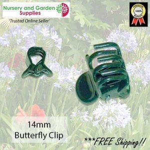 14mm Butterfly Clip - for more info go to nurseryandgardensupplies.com.au