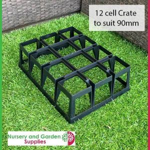 12 Cell Pot Crate - for more info go to nurseryandgardensupplies.com.au