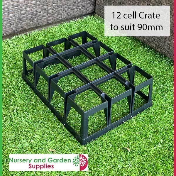12 Cell Pot Crate - for more info go to nurseryandgardensupplies.com.au