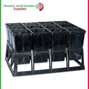 90mm Square Native Pot in Crate - for more info go to nurseryandgardensupplies.com.au