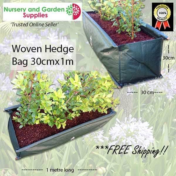 Woven Hedge Bag 30x100 - for more info go to nurseryandgardensupplies.com.au