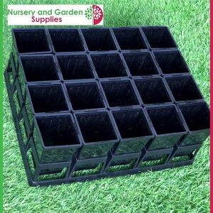 70mm Square Native Pot - for more info go to nurseryandgardensupplies.com.au
