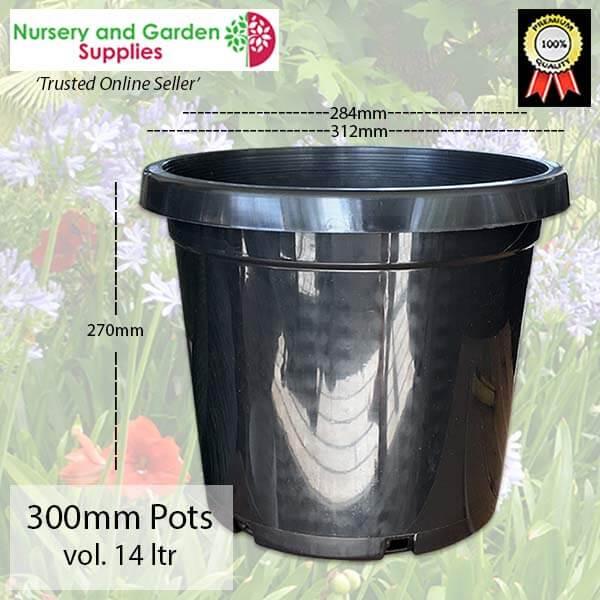 300mm Plant Pot - for more info go to nurseryandgardensupplies.com.au