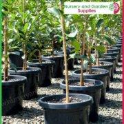 300mm-Plant-Pot-Black-4