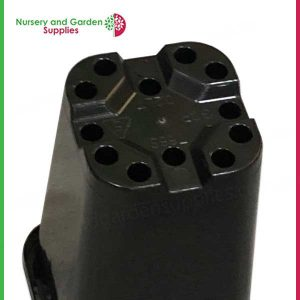 68mm Square Pot Black - Nursery and Garden Supplies https://nurseryandgardensupplies.co.nz/