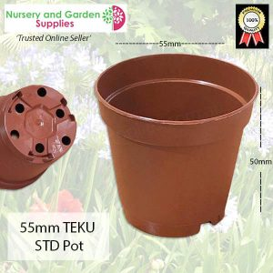 55mm Teku Standard Pot - for more info go to nurseryandgardensupplies.com.au