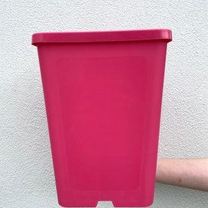 183mm Square Deep Pot Pink