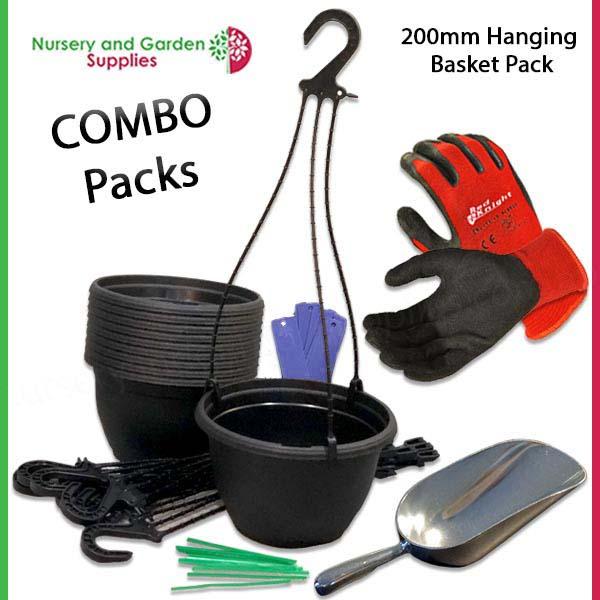 200mm Hanging Basket Combo Pack