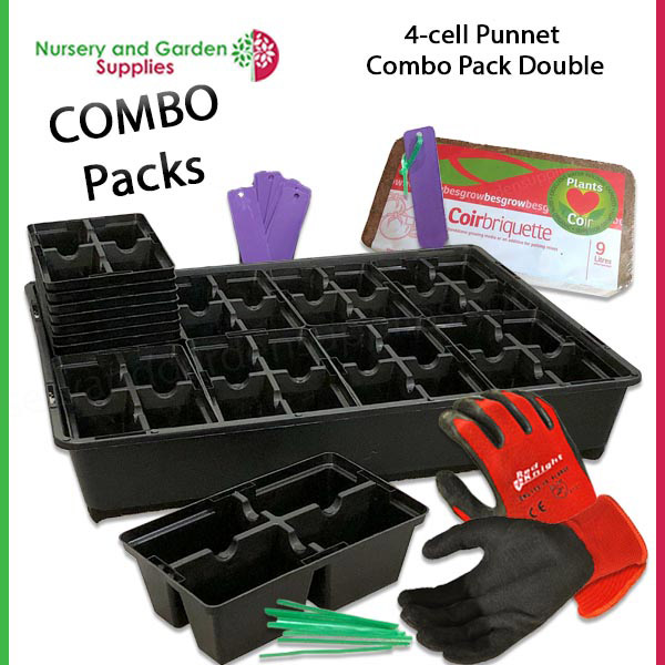 4 Cell Punnet Combo Double Pack