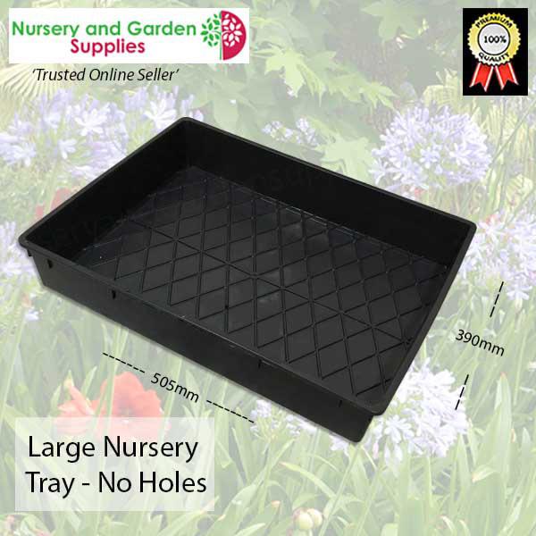 Large Nursery Tray NO HOLES